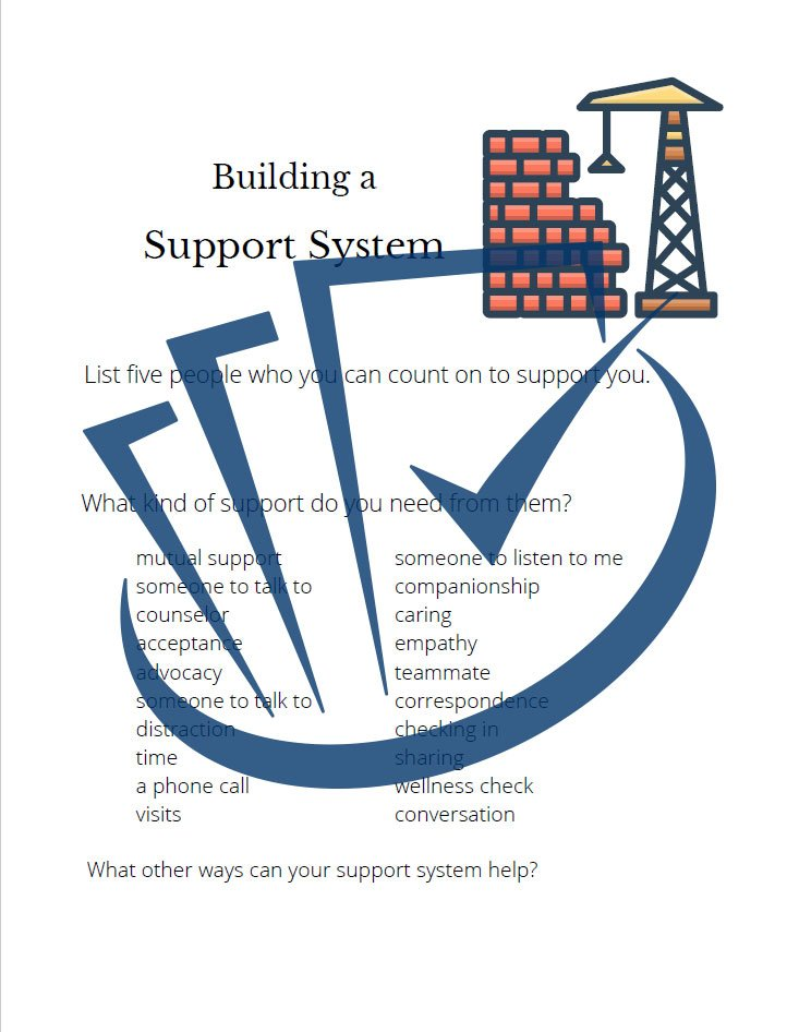 Popup Preview Of Building A Support System