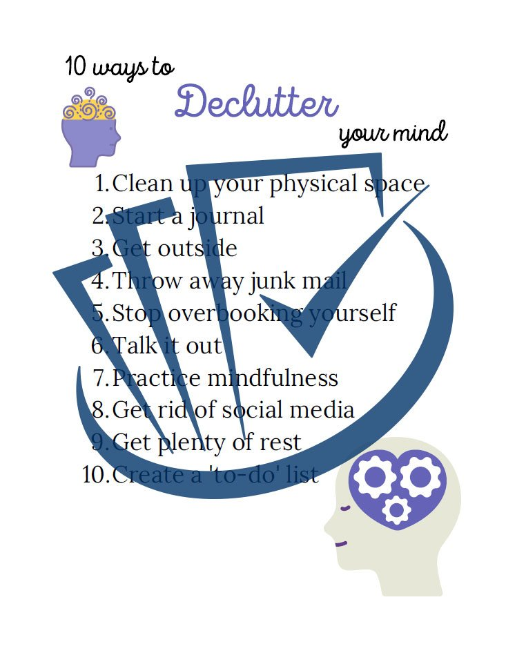Popup Preview Of Declutter Your Mind