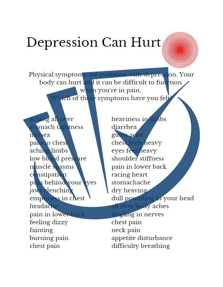 Popup Preview Of Depression Can Hurt