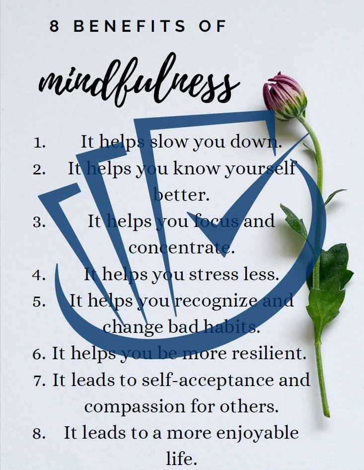 Popup Preview Of Eight Benefits of Mindfulness