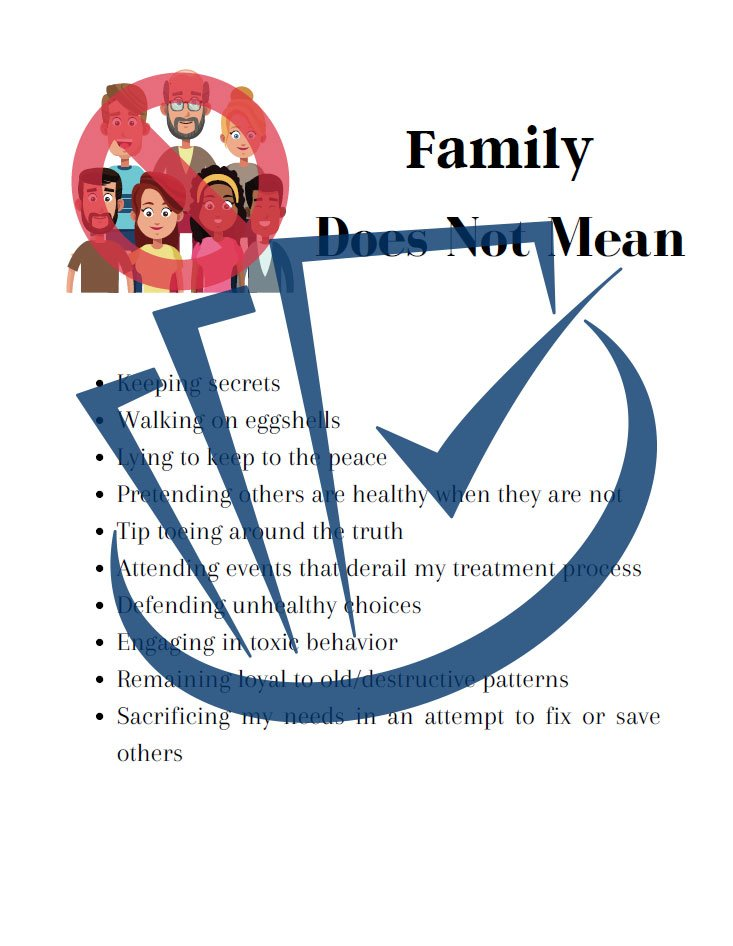 Popup Preview Of Family Does Not Mean
