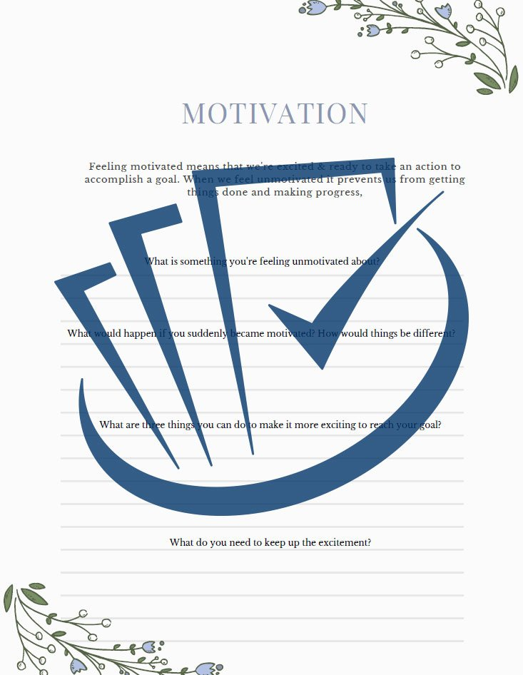 Popup Preview Of Motivation