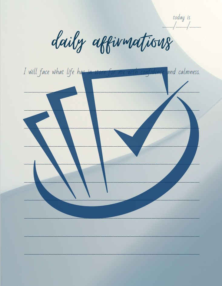 Popup Preview Of Daily Affirmations