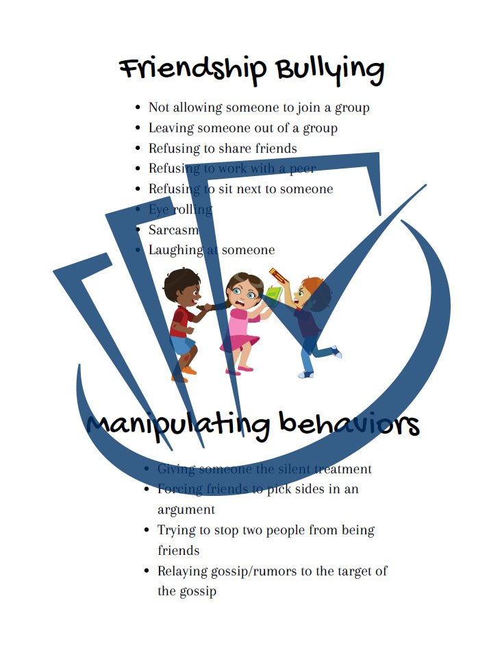 Popup Preview Of Friendship Bullying
