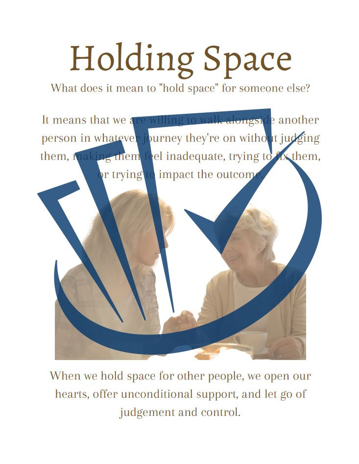 Popup Preview Of Holding Space