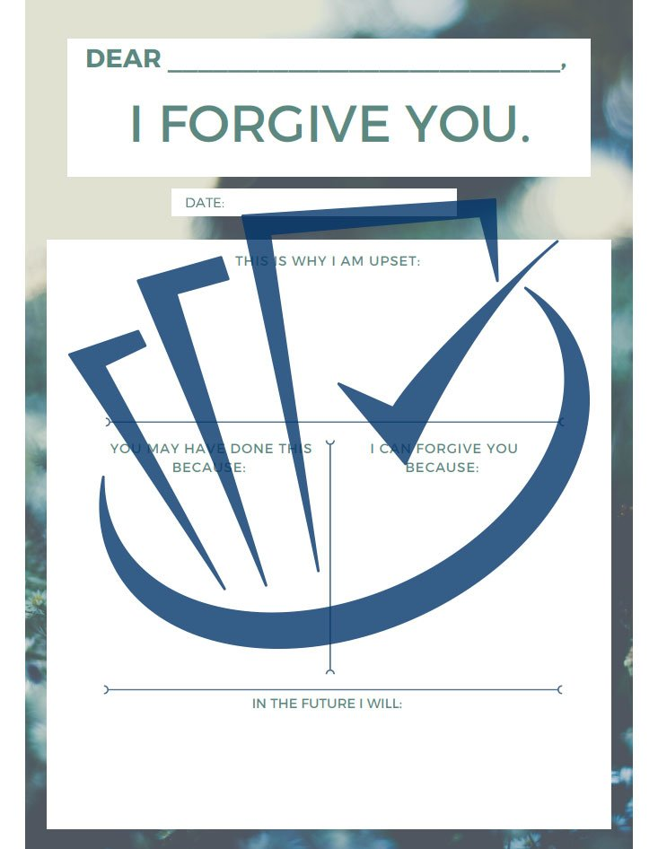 Popup Preview Of I Forgive You