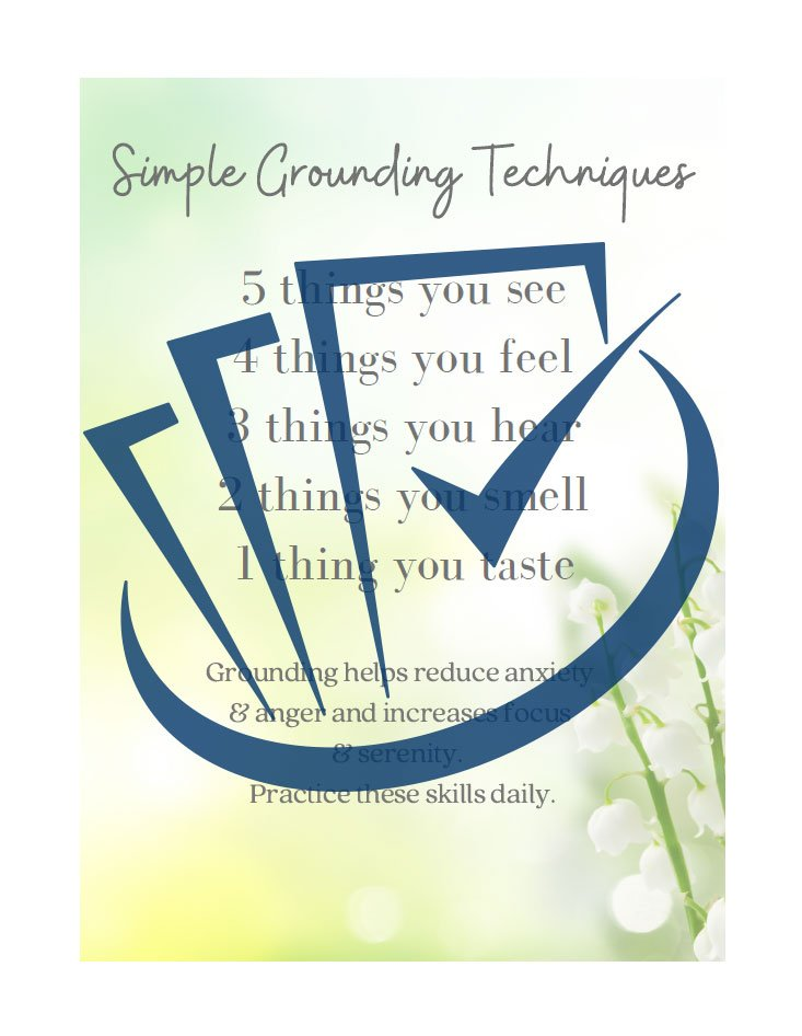 Popup Preview Of Simple Grounding Techniques