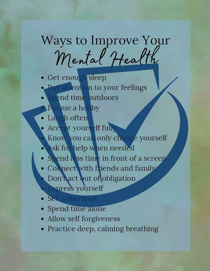 Popup Preview Of Ways To Improve Your Mental Health